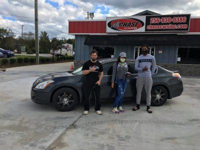 chase cars customer