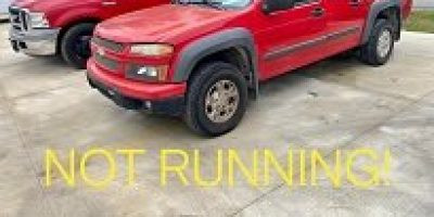 CASH ONLY! NOT RUNNING 2005 CHEVROLET COLORADO